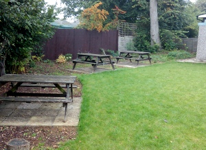 Warden Hill Community Centre - the garden